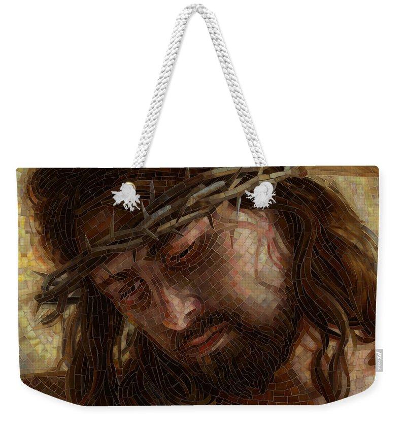 Crucifixion Weekender Tote Bags