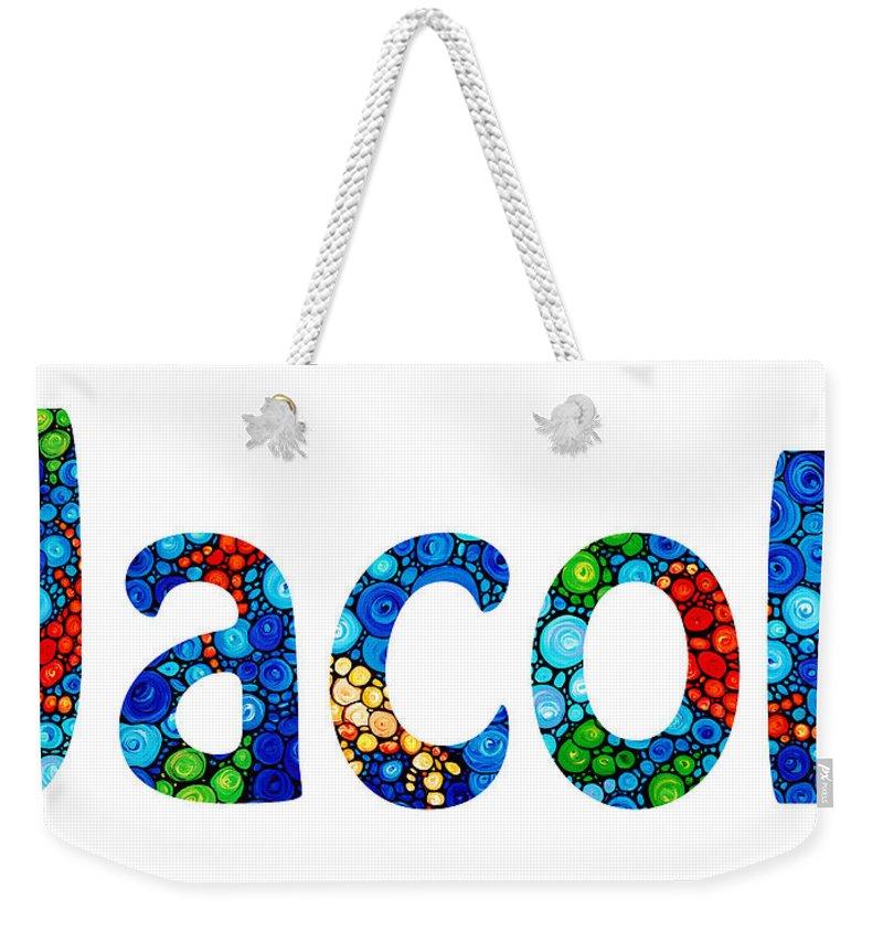 e01038bc3ccb Customized Baby Kids Adults Pets Names - Jacob Name Weekender Tote Bag