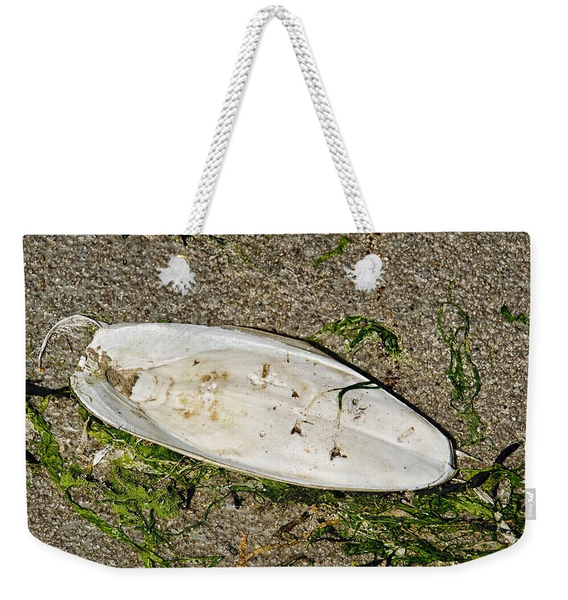 Cuttlefish Weekender Tote Bag featuring the photograph Cuttlefish Bone 2 by Susie Peek