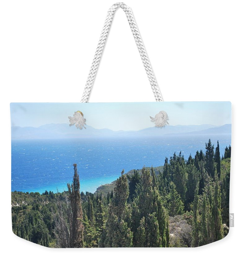 Weekender Tote Bag featuring the photograph Cypress 2 by George Katechis