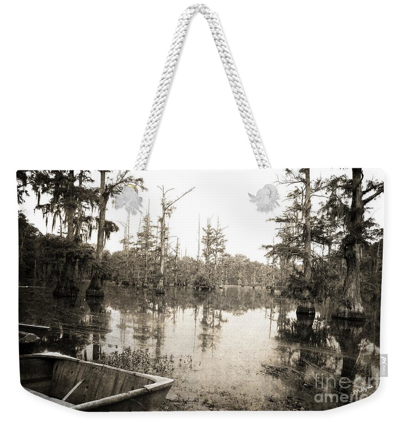 Swamp Weekender Tote Bag featuring the photograph Cypress Swamp by Scott Pellegrin