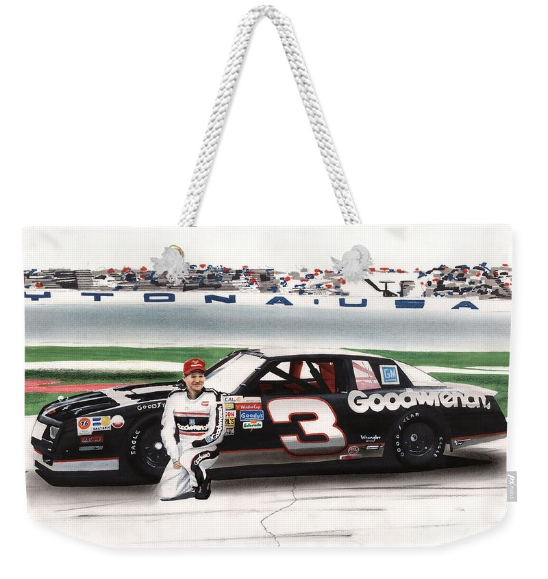 Dale Earnhardt Goodwrench Monte Carlo Weekender Tote Bag