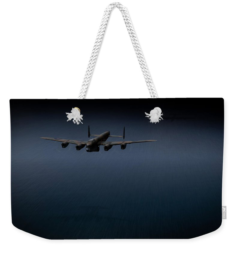 Dambusters Weekender Tote Bag featuring the photograph Dambuster J-johnny by Gary Eason