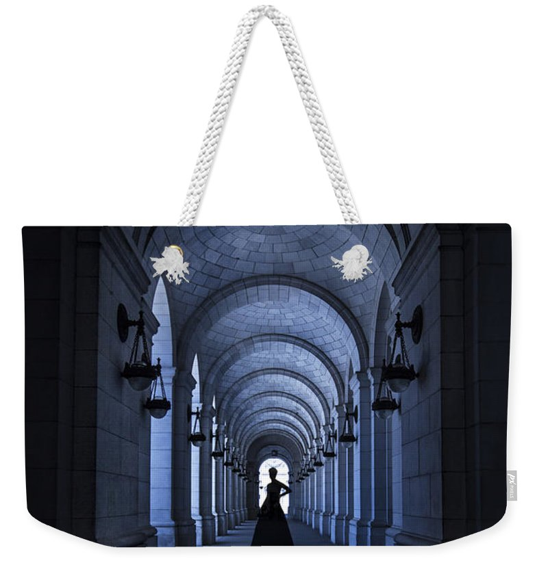 Tunnel Weekender Tote Bag featuring the photograph Dangerous Charm by Evelina Kremsdorf