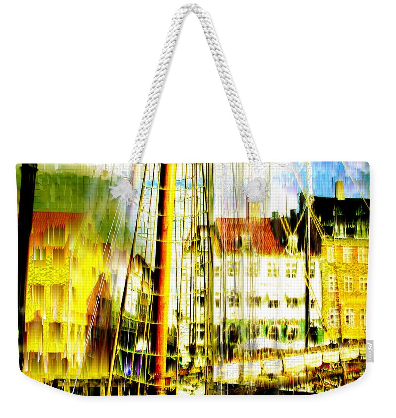 Cityscape Weekender Tote Bag featuring the photograph Danish Harbor by Seth Weaver