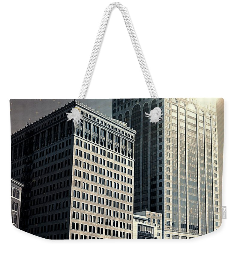 Architect Weekender Tote Bag featuring the photograph Dark And Light by Debbie Nobile