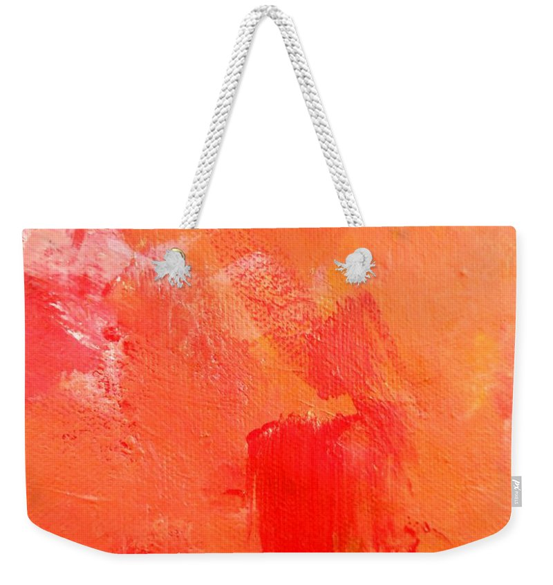 Paintings By Lyle Weekender Tote Bag featuring the painting Darkness by Lord Frederick Lyle Morris - Disabled Veteran