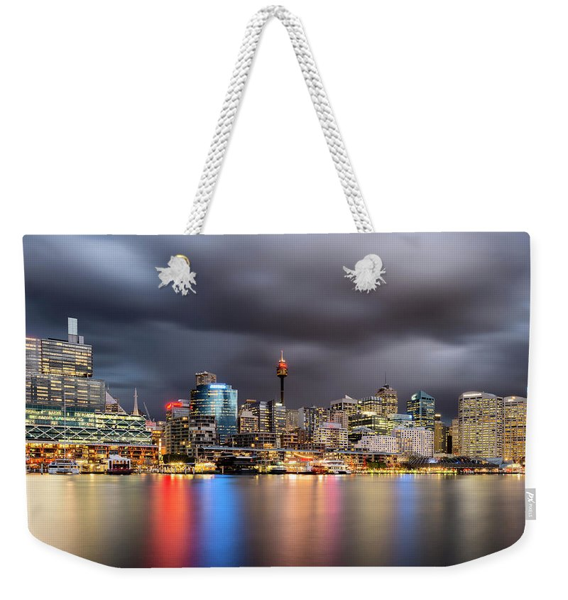 Outdoors Weekender Tote Bag featuring the photograph Darling Harbour, Sydney - Australia by Atomiczen