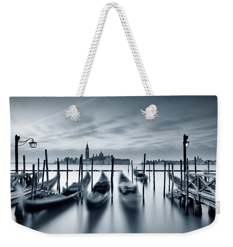 Dawn Weekender Tote Bag featuring the photograph Dawn In Venice by Mammuth