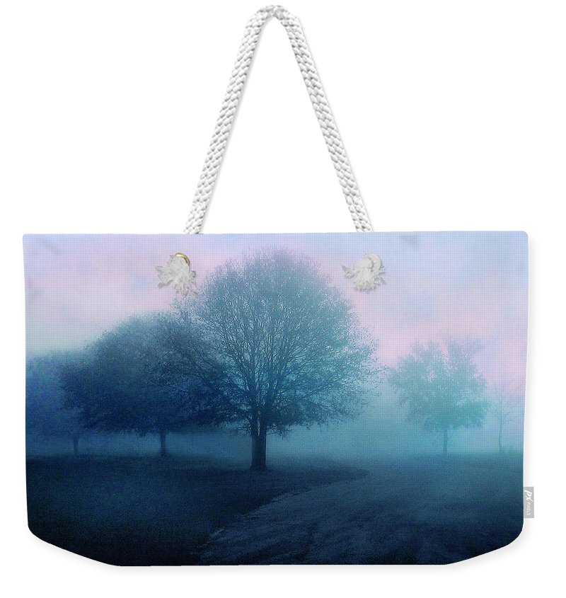 Trees Weekender Tote Bag featuring the photograph Dawn by Jessica Jenney