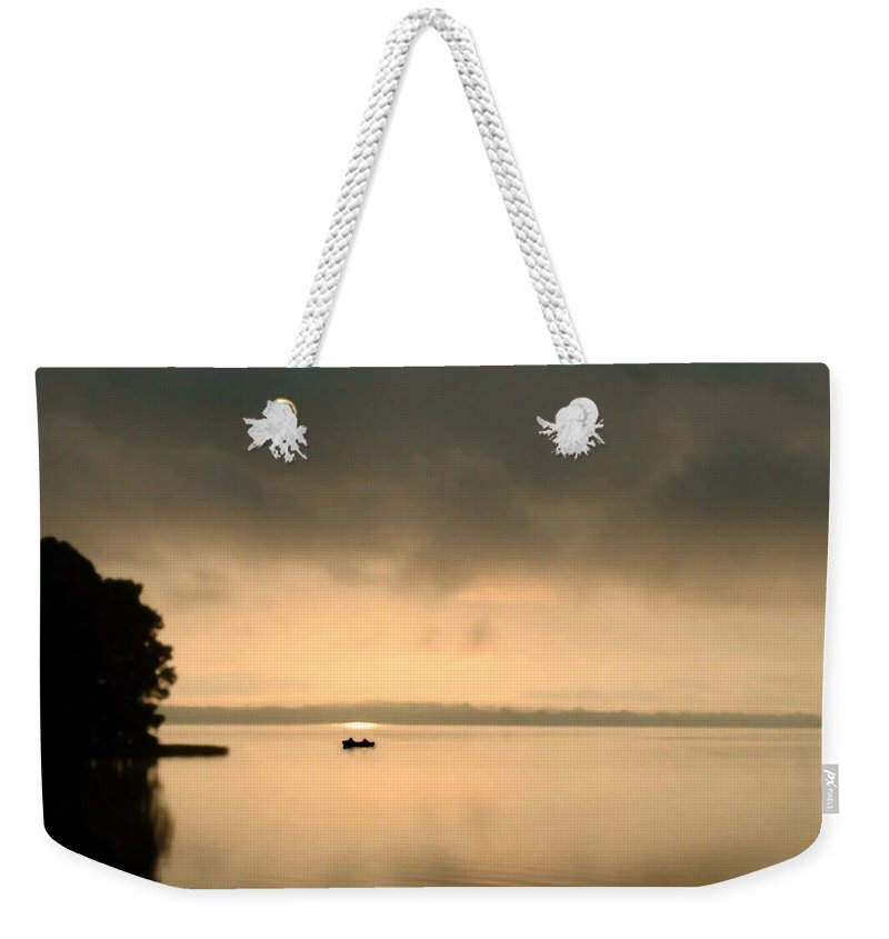 Nature Weekender Tote Bag featuring the photograph Dawn Of A New Day by Peg Urban