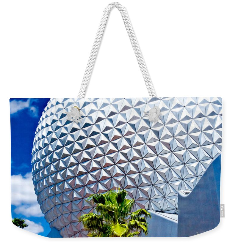 Dome Weekender Tote Bag featuring the photograph Daylight Dome by Greg Fortier