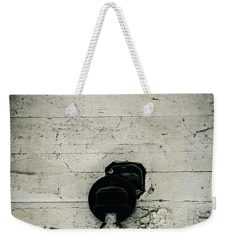 Light Weekender Tote Bag featuring the photograph Light Of The Past by Trish Mistric