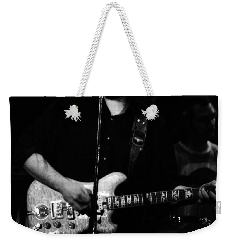 Grateful Dead Weekender Tote Bag featuring the photograph Dead #28 by Ben Upham