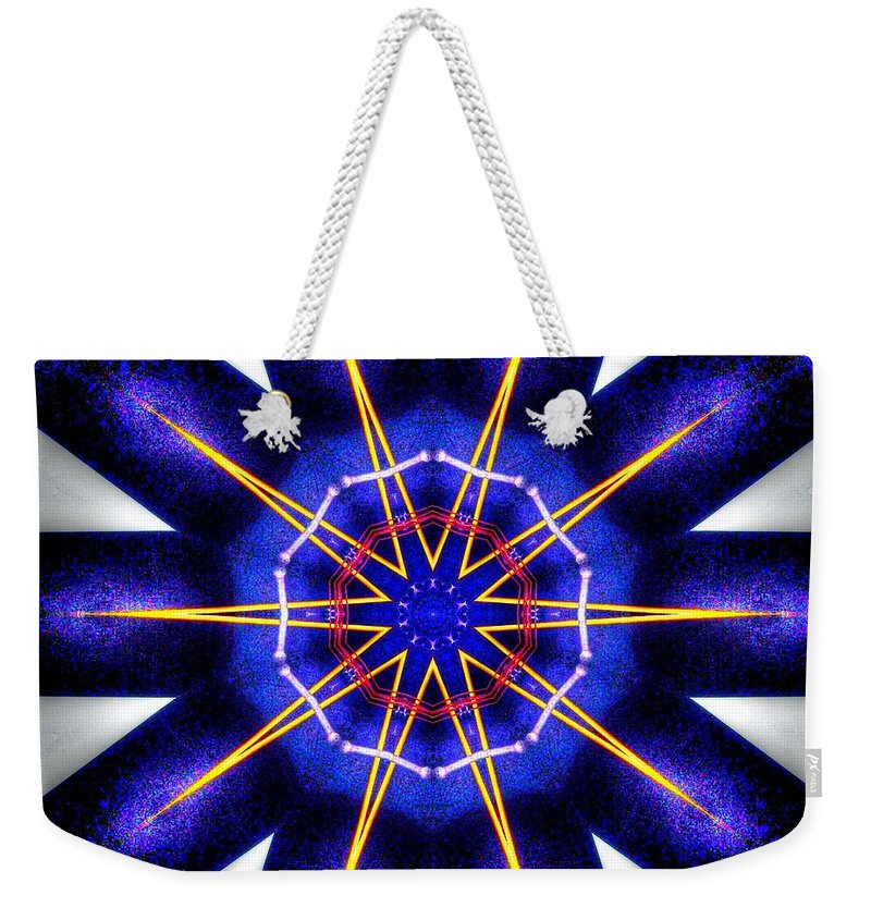 Dead Weekender Tote Bag featuring the digital art Dead By Sunrise by Michael Damiani