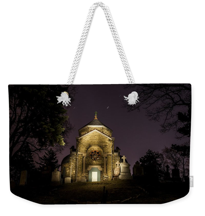 Www.cjschmit.com Weekender Tote Bag featuring the photograph Death And Stars by CJ Schmit