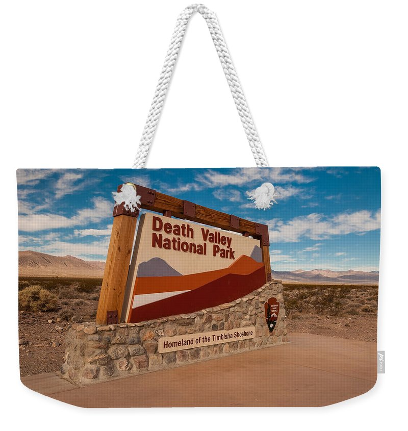 Death Valley Np Photographs Weekender Tote Bags