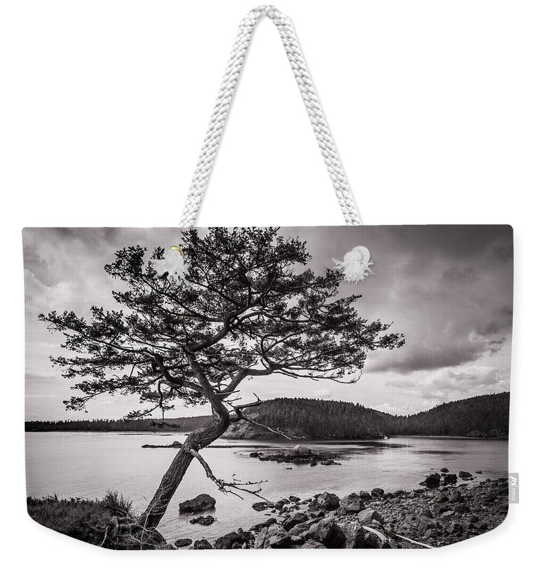 Deception Pass Weekender Tote Bag featuring the photograph Deception Pass Wa by Mike Penney