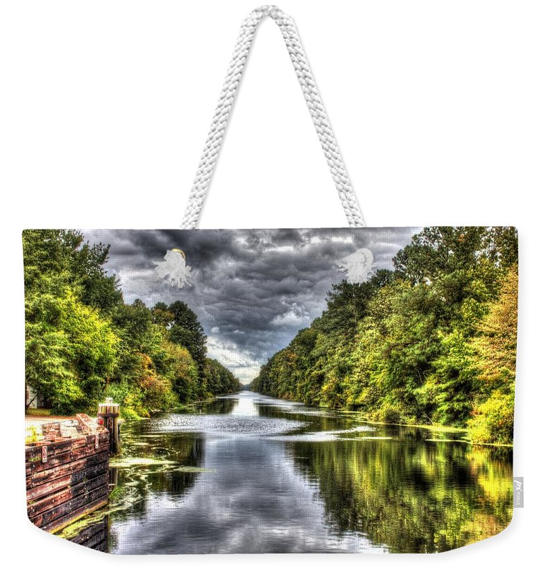 Deep Reflection Weekender Tote Bag featuring the photograph Deep Reflection by Shannon Louder