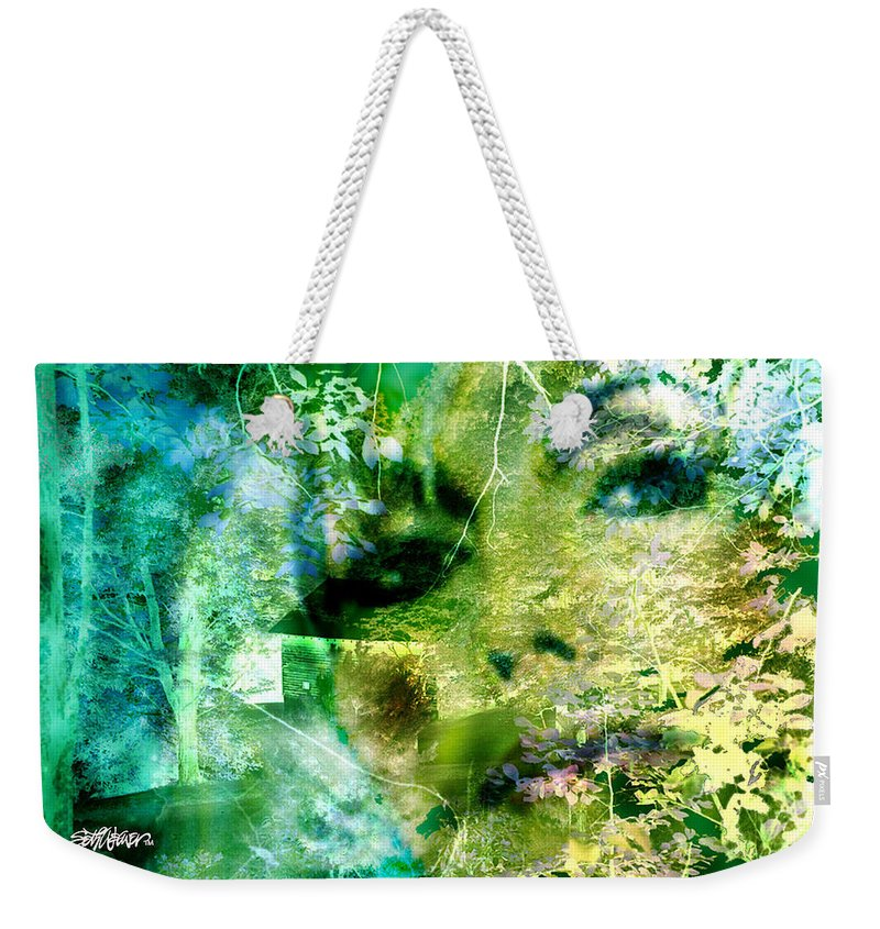 Deep Woods Wanderings Weekender Tote Bag featuring the digital art Deep Woods Wanderings by Seth Weaver