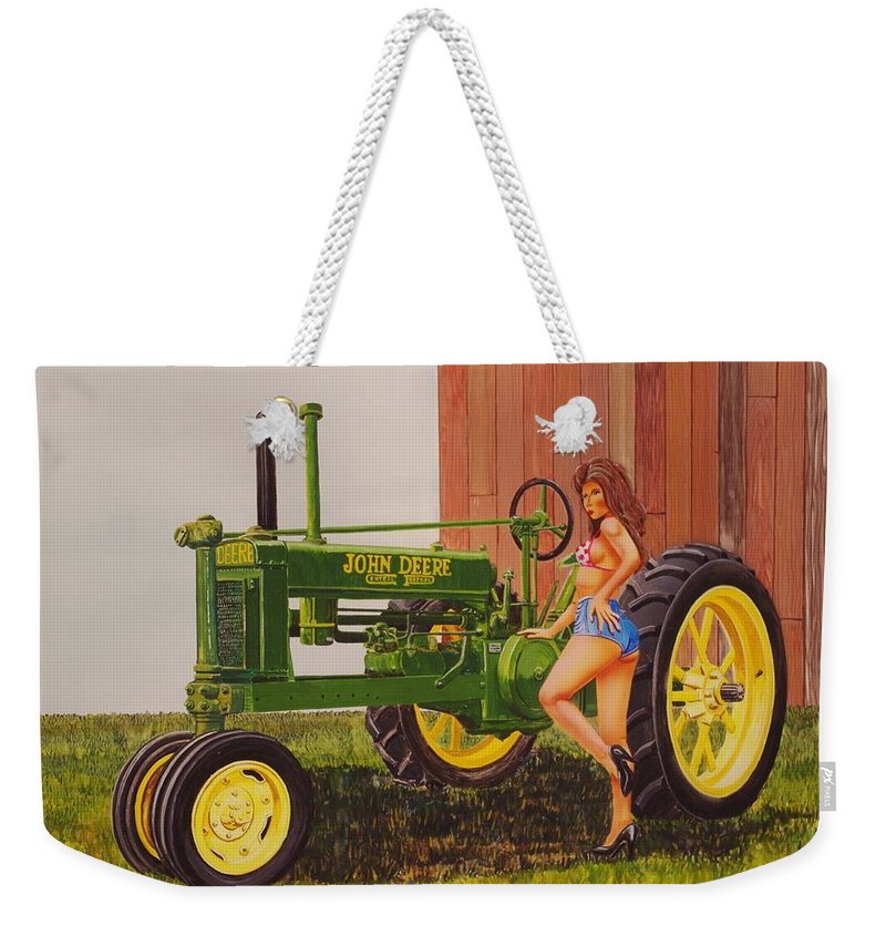 John Deere For Sale >> 1938 Model B John Deere Weekender Tote Bag