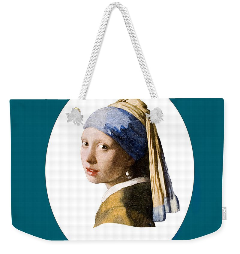 Vermeer Weekender Tote Bag featuring the photograph Delft Blue by Peter Lloyd