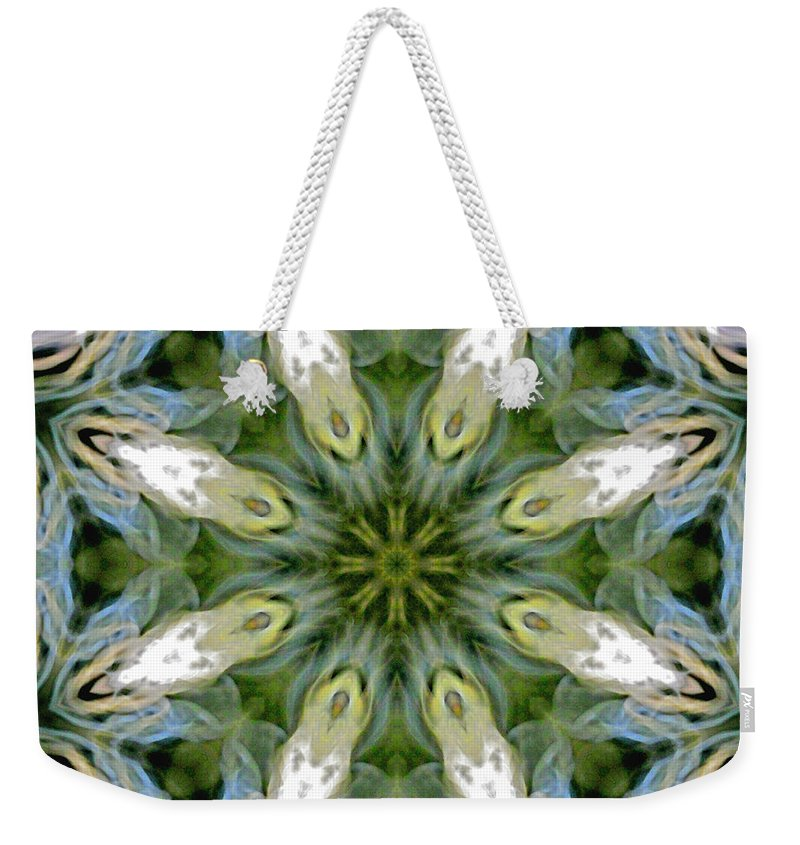 Mandala Weekender Tote Bag featuring the photograph Delight 3 by Lisa Lipsett