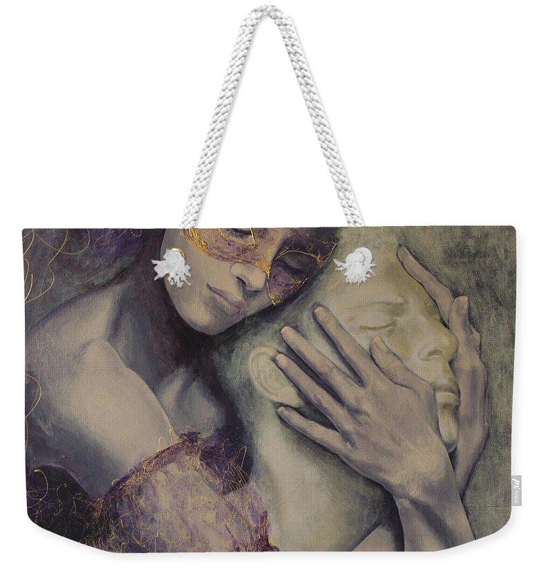 Mask Weekender Tote Bags