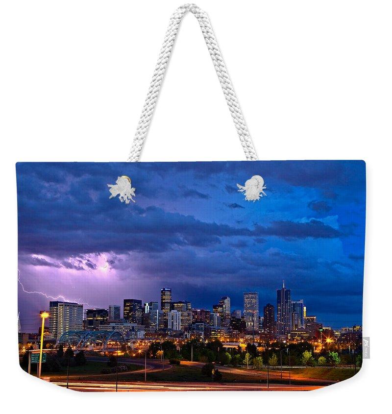 Powerful Weekender Tote Bags