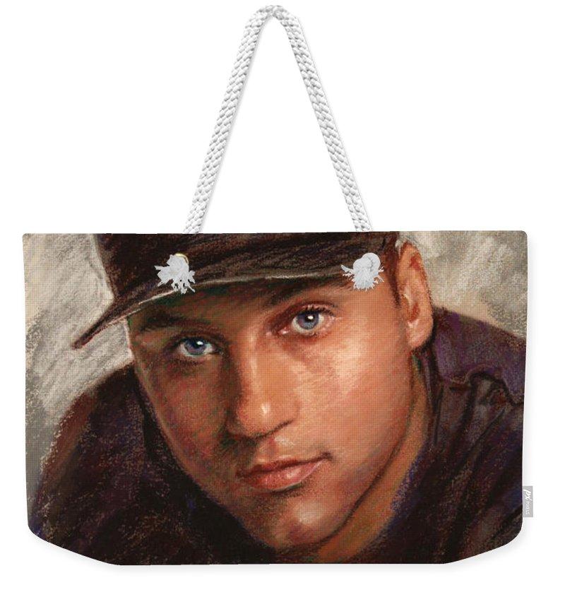 Derek Jeter Weekender Tote Bags