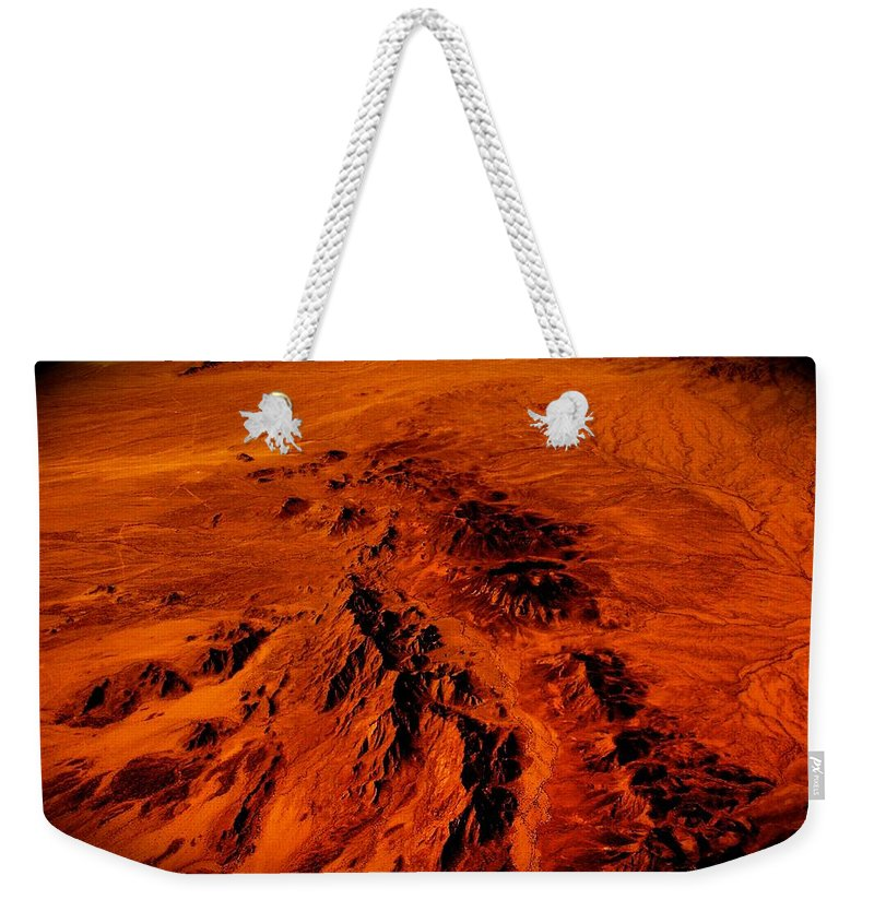 Arizona Prints Weekender Tote Bag featuring the photograph Desert Of Arizona by Monique's Fine Art