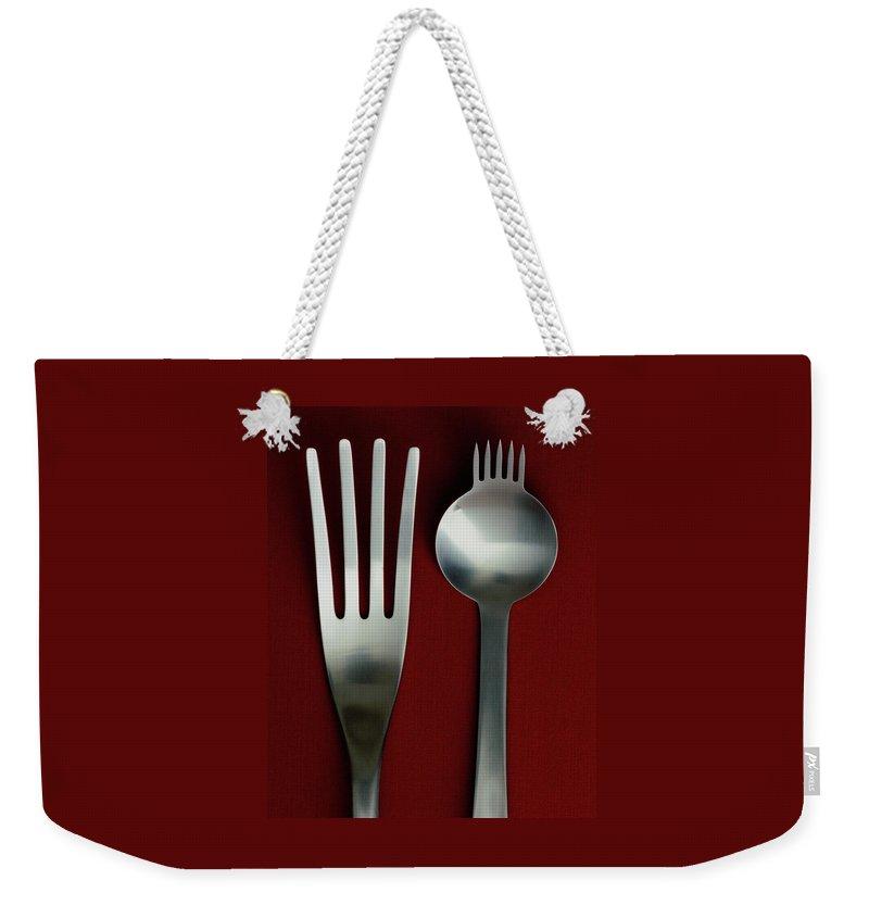 günstig online zu verkaufen San Francisco Designer Cutlery Weekender Tote Bag
