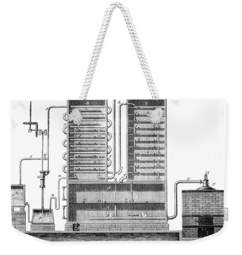 1830 Weekender Tote Bag featuring the photograph Destillation, 1831 by Granger