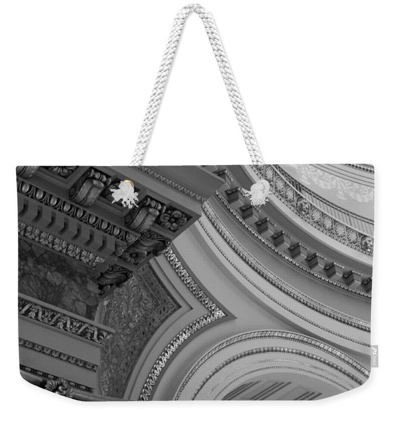 Architecture Weekender Tote Bag featuring the photograph Details by Lauri Novak