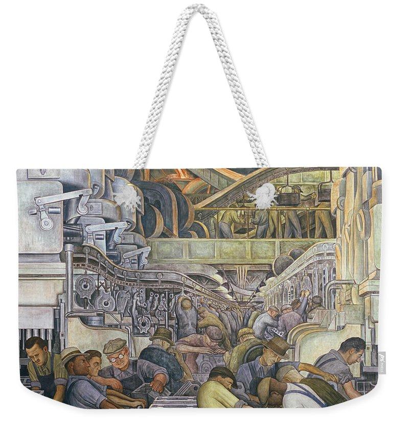 Industry Weekender Tote Bags