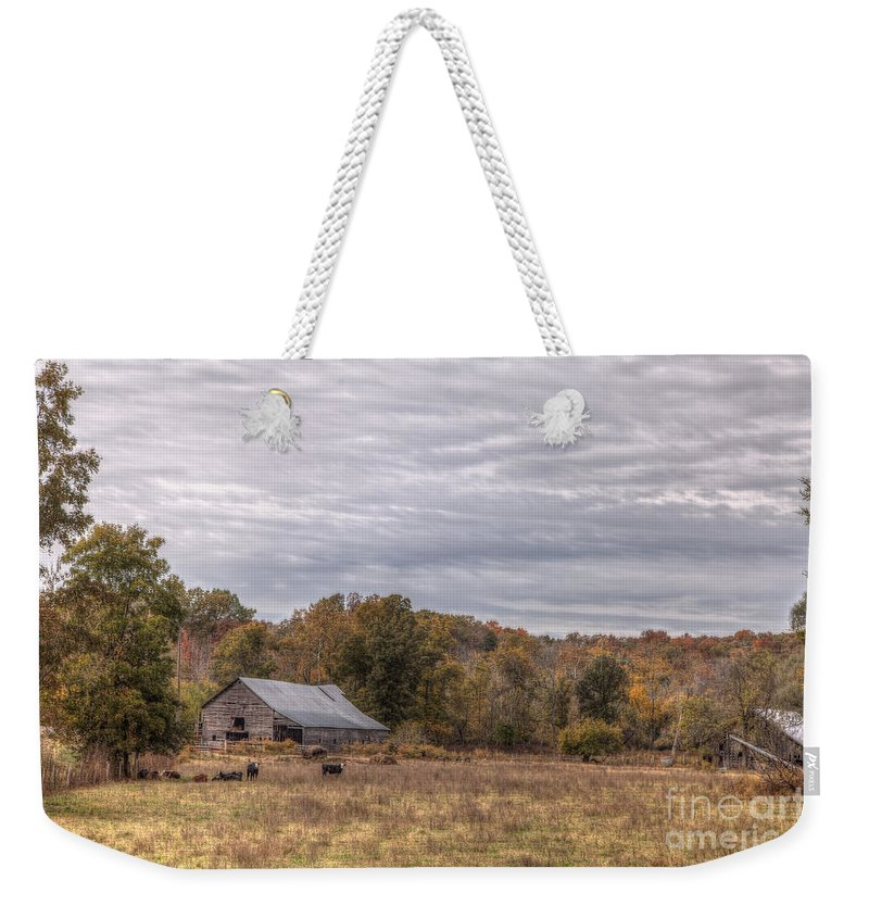 2014 Weekender Tote Bag featuring the photograph Devour by Larry Braun