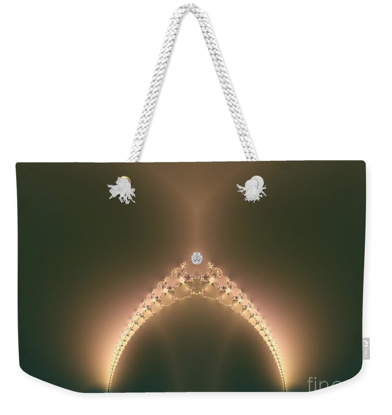 Weekender Tote Bag featuring the digital art The Girls by Dana Haynes