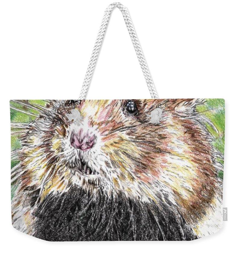 Golden Hamster Weekender Tote Bags