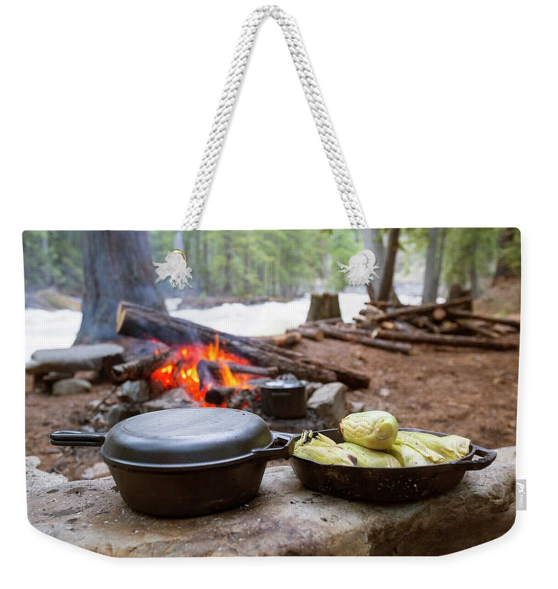 Day Weekender Tote Bag featuring the photograph Dinner Is Ready by Craig Moore