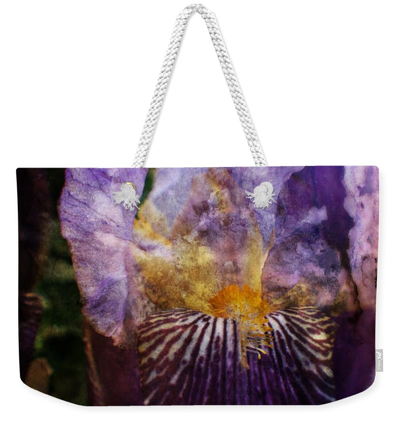 Garden Weekender Tote Bag featuring the photograph Dirty Flowers. by Doc Braham