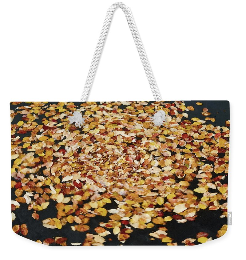 Whirlpool Weekender Tote Bag featuring the photograph Dizzy Db by Rich Franco