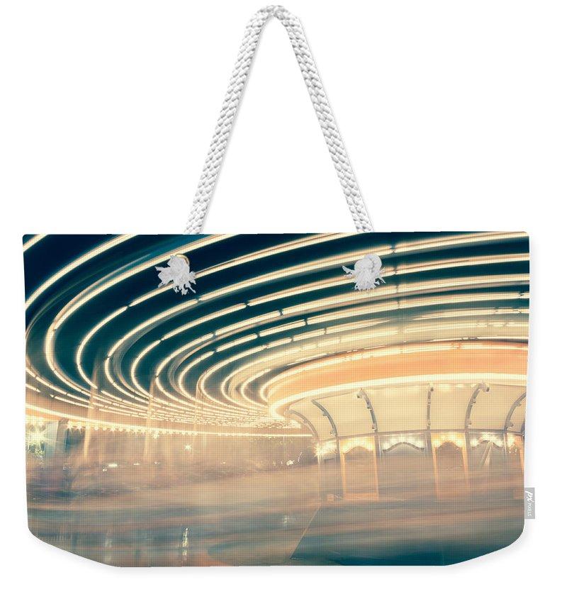 Carousel Weekender Tote Bags