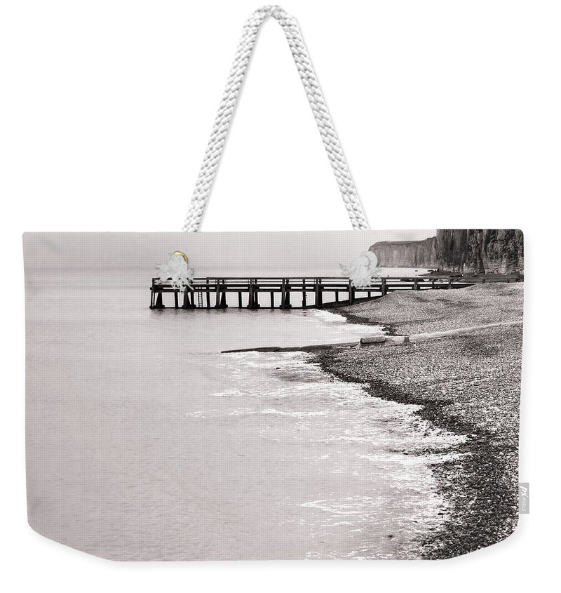France Weekender Tote Bag featuring the photograph Dock by Olivier Le Queinec