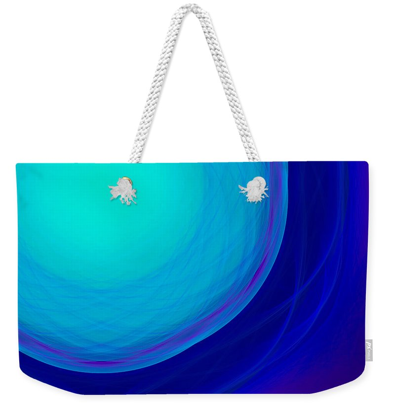 Psychology Weekender Tote Bag featuring the digital art Dot-05 by RochVanh