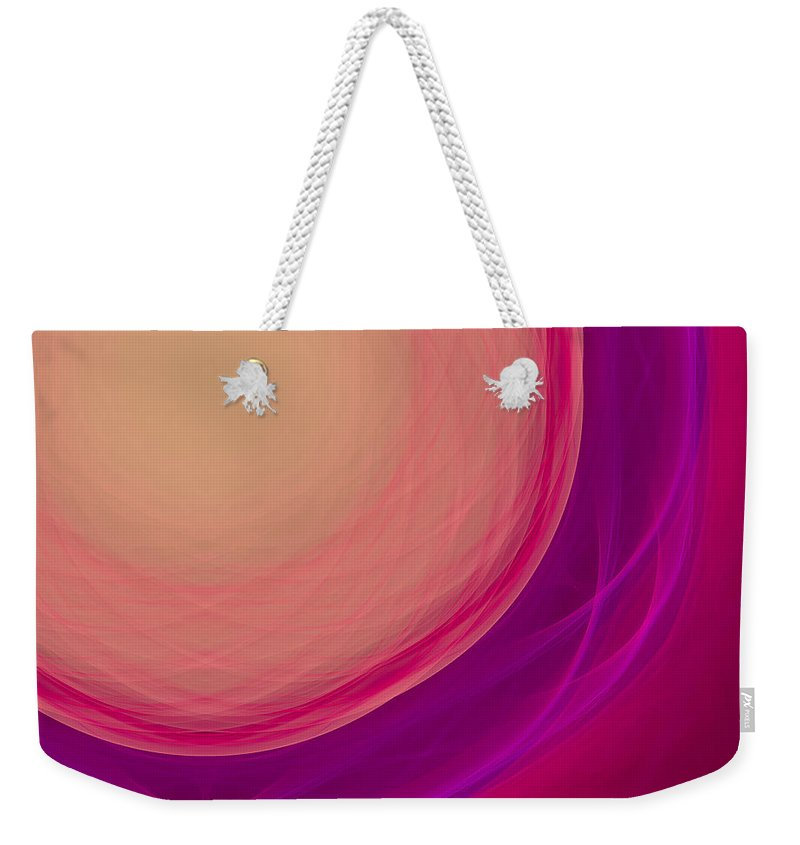 Psychology Weekender Tote Bag featuring the digital art Dot-06 by RochVanh