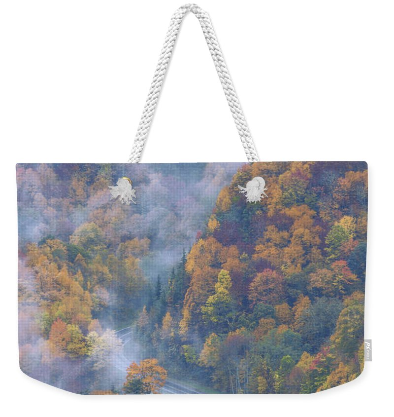 Nature Weekender Tote Bag featuring the photograph Down Below by Chad Dutson