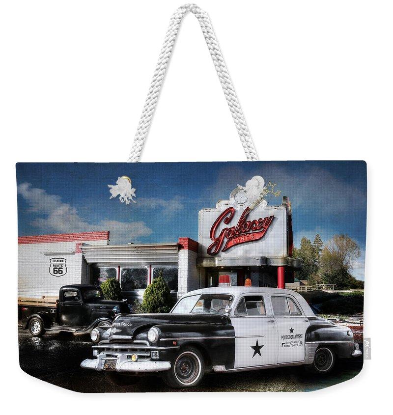 Arizona Weekender Tote Bag featuring the photograph Down Memory Lane by Lori Deiter
