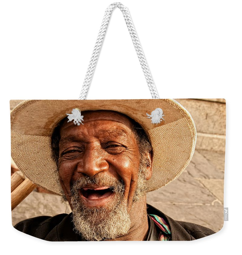 Portrait Weekender Tote Bag featuring the photograph Dr. Luv New Orleans by Kathleen K Parker