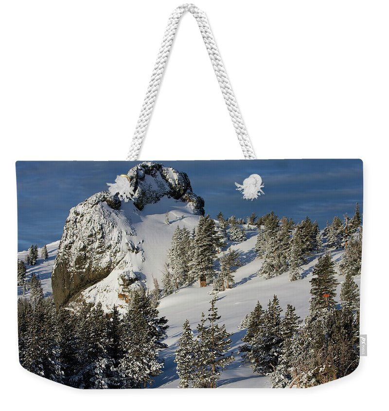 California Weekender Tote Bag featuring the photograph Dramatic View Of The Sprawling by Jose Azel