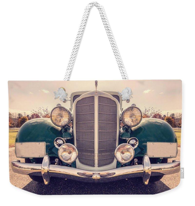 Super Car Weekender Tote Bags